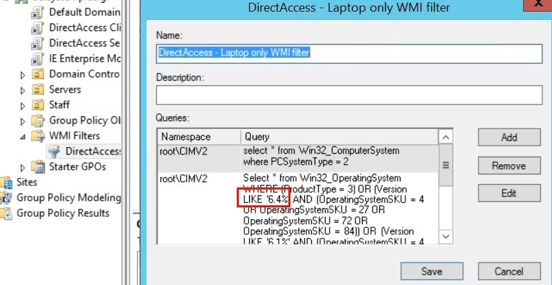 If you want to enable DirectAccess on Windows 10 TP, you'll need