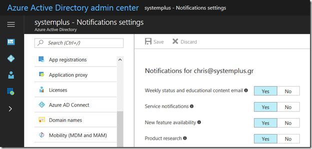 Take a look at the new #AzureAD Admin Console, now in GA!